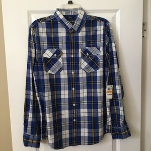 American Rag plaid shirt